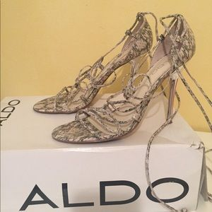 ALDO leather high heels - size 37 (7)